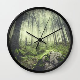 Only way is up Wall Clock