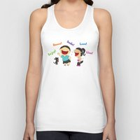 dancing Tank Tops featuring Dancing! by LesliePinto
