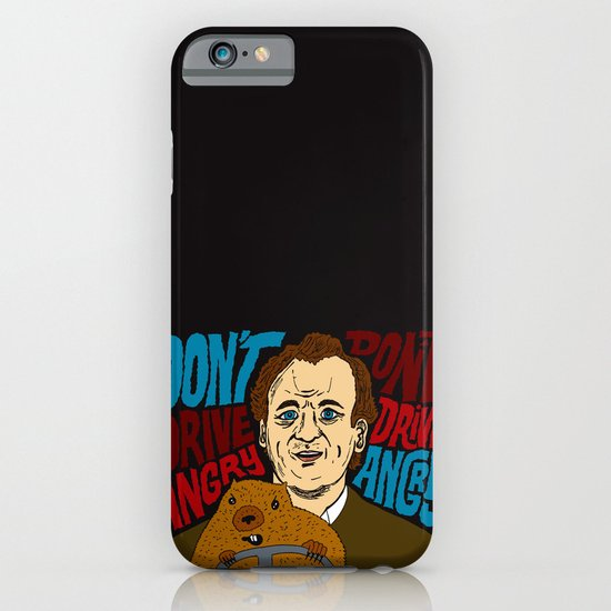Don't Drive Angry iPhone & iPod Case