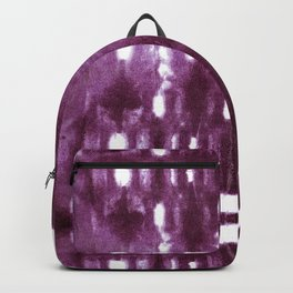 Shibori City Plum Wine Backpack
