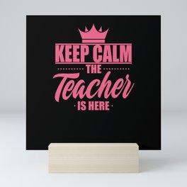 Teacher Mini Art Print