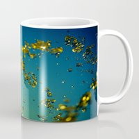 aperture Mugs featuring Drops of imagination by Thomas Eppolito