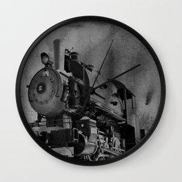 Old School Choo Choo Wall Clock