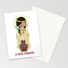 St Kateri Tekakwitha Stationery Cards