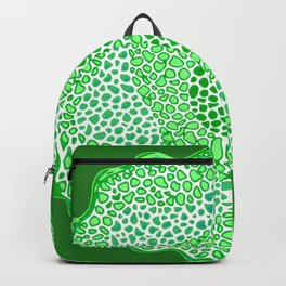 Green green and green Backpack