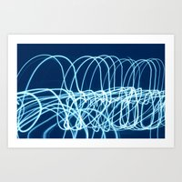forever young Art Prints featuring forever young by Bunny Noir
