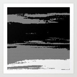 Digital Dawn Art Print