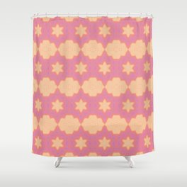Pink Gold Pastel ( 9 out of 12 ) Shower Curtain