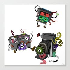 Snapshot (ANALOG zine) Canvas Print