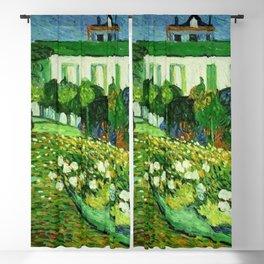 Daubigny's Garden by Vincent Van Gogh Blackout Curtain