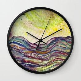 Mar de Ensueños Wall Clock