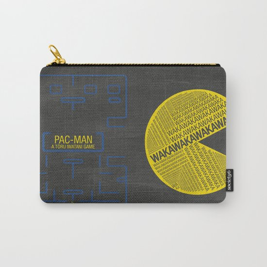 Pac-Man Typography Carry-All Pouch
