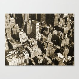 From the Empire State Building Canvas Print