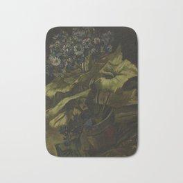 Vincent van Gogh - Cineraria (1886) Bath Mat