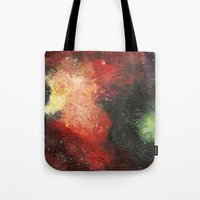 cosmic Tote Bags featuring Cosmic by Bleriot
