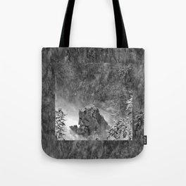 Rocks in the falls Tote Bag