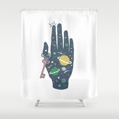 The Secret of Space Shower Curtain