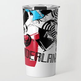 ALICE THE BUNNYGIRL IN WONDERLAND Travel Mug