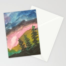 Somewhere in a distant dream Stationery Cards