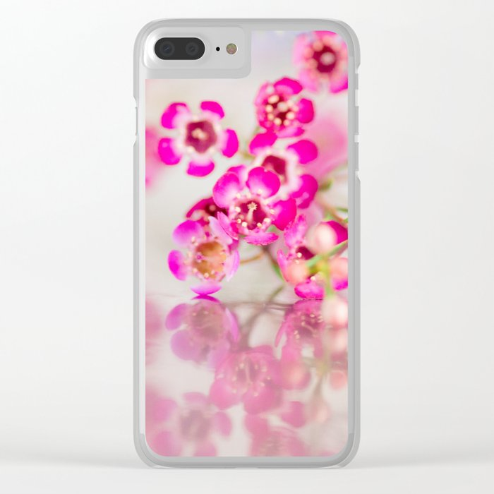 Quiet for a moment Clear iPhone Case
