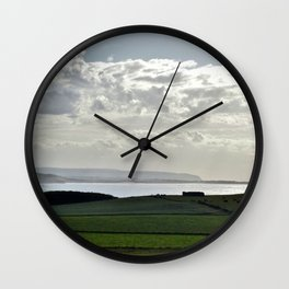 Wait Till You See the Neighbors Wall Clock
