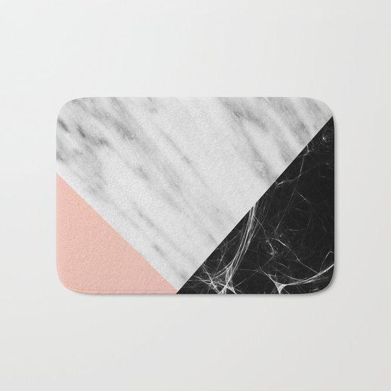Marble Collage Bath Mat