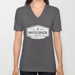The Bay Harbor Butcher Unisex V-Neck