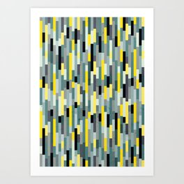 City by the Bay, Downtown Art Print