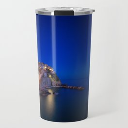 As the night falls over Manarola Travel Mug