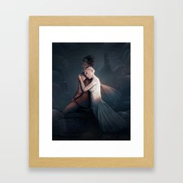Ash and Fay Framed Art Print
