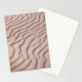 Sandy beach in Mexico   Tropical pattern Stationery Cards