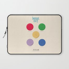 Inside Out - Minimal Movie Poster, animated movie, Laptop Sleeve