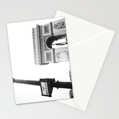 Place Charles De Gaulle Stationery Cards