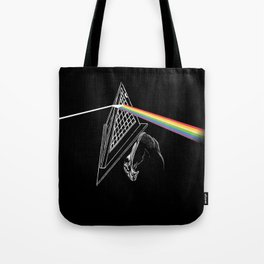 Dark Side of the Hill Tote Bag