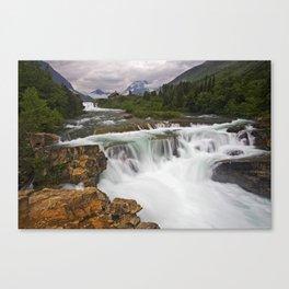 Mountain Paradise Canvas Print