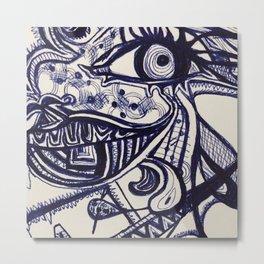 Eyes wide open Metal Print