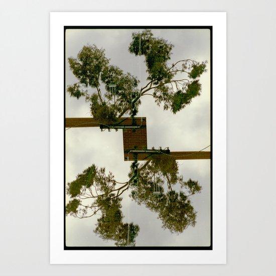 further (35mm multiple exposures) Art Print