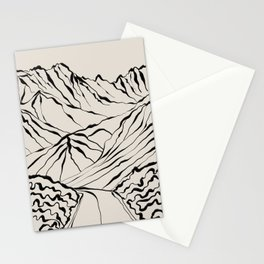 Mountain know the secret Stationery Cards