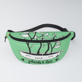 Plants and Tea Fanny Pack