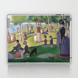 Georges Seurat - A Sunday Afternoon on the Island of La Grande Jatte Laptop & iPad Skin