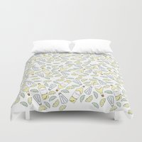 tequila Duvet Covers featuring Tequila party by Brendan Soulos Illustrations