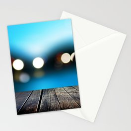 Evening berth Stationery Cards