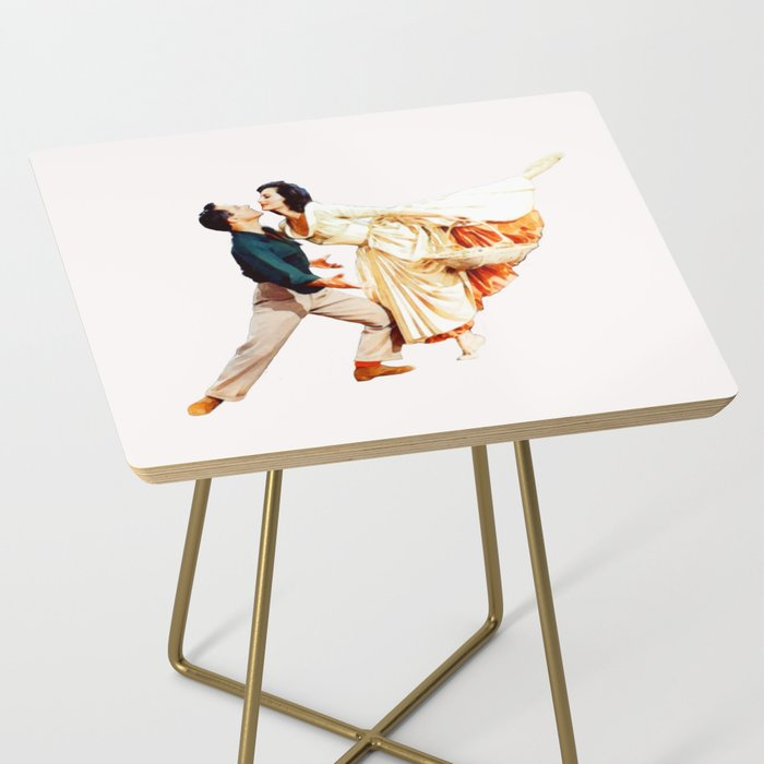 Gene Kelly and Cyd Charisse - Brigadoon Side Table