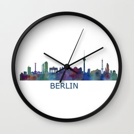 Berlin City Skyline HQ Wall Clock