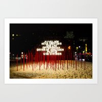 montreal Art Prints featuring Montreal by Yang Jiang