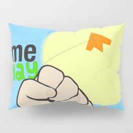 Time to play Pillow Sham