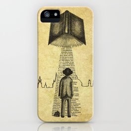 Take Me To Your Reader iPhone Case