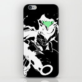 Samus Stencil iPhone Skin