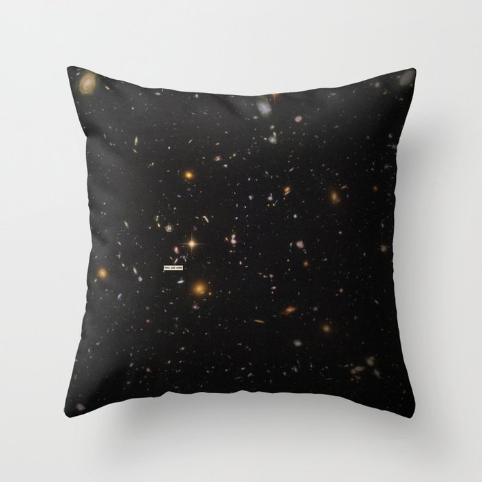 THE UNIVERSE - Space   Time   Stars   Galaxies   Science   Planets   Past   Love   Design Throw Pillow