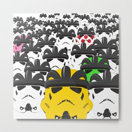 Pelotroopers Metal Print